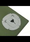 ESKA Egészségügyi kiskönyv borító - Sötétzöld/világosszürke oroszlán (12.5 x 17.5 cm)