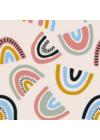 Kolorky Day környezetbarát eldobható pelenka - Szivárvány (S)