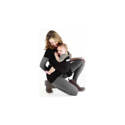 Love Radius (Je Porte Mon Bebe) Basic rugalmas hordozókendő fekete - HASZNÁLT