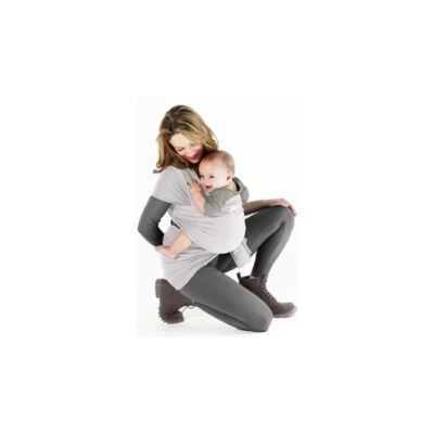 Love Radius (Je Porte Mon Bebe) Basic rugalmas hordozókendő gyöngyház szürke - ÚJSZERŰ