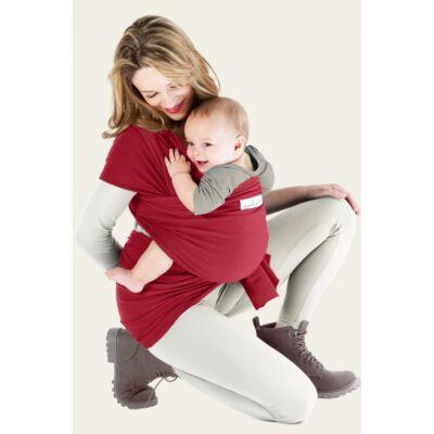 Love Radius (Je Porte Mon Bebe) Basic rugalmas hordozókendő piros - ÚJSZERŰ