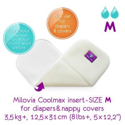 Milovia Coolmax mosható pelenka betét M-es méretben