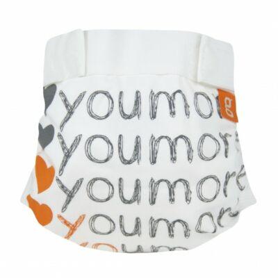 gDiapers limitált mosható pelenka külső - I love you more