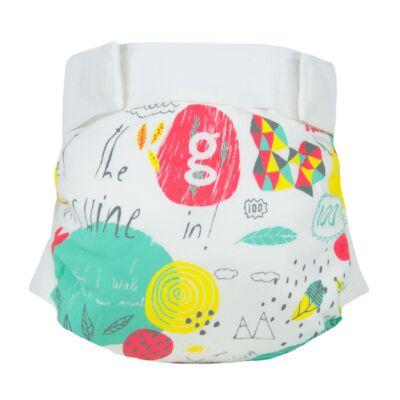 gDiapers limitált mosható pelenka külső - Good Life (M)