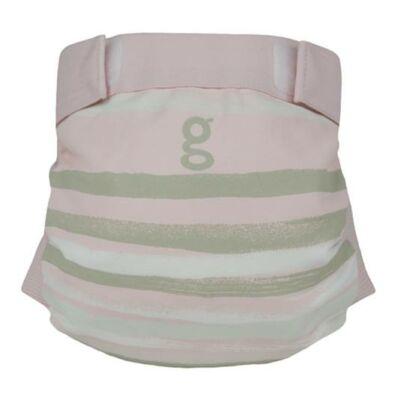gDiapers limitált mosható pelenka külső - I love the sea pink