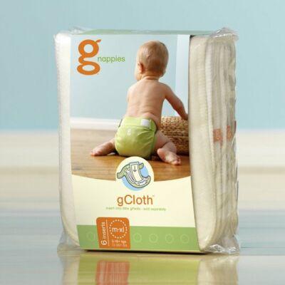gDiapers mosható pelenka betét csomag - M/L/XL
