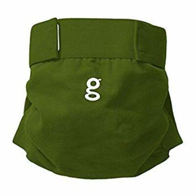 gDiapers mosható pelenka külső - Galoshes Green