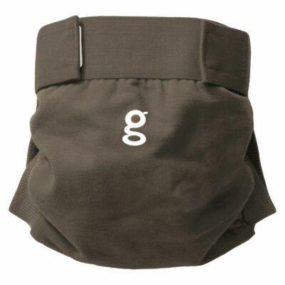 gDiapers mosható pelenka külső - Groundhog Brown (S)