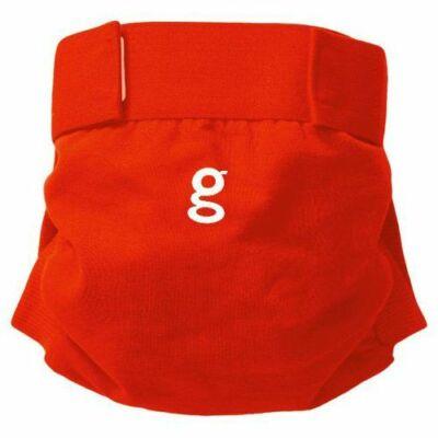 gDiapers mosható pelenka külső 1 db csónakkal - Good Fortune Red (XL)
