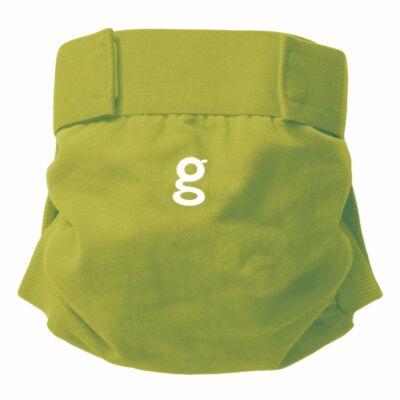 gDiapers mosható pelenka külső 1 db csónakkal - Guppy Green (XL)