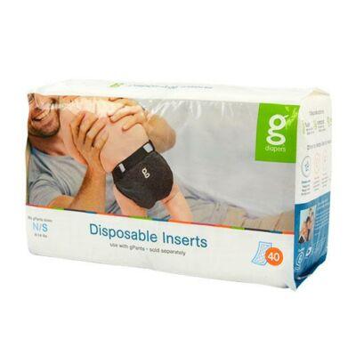 gDiapers eldobható pelenka betét mosható pelenkába - S