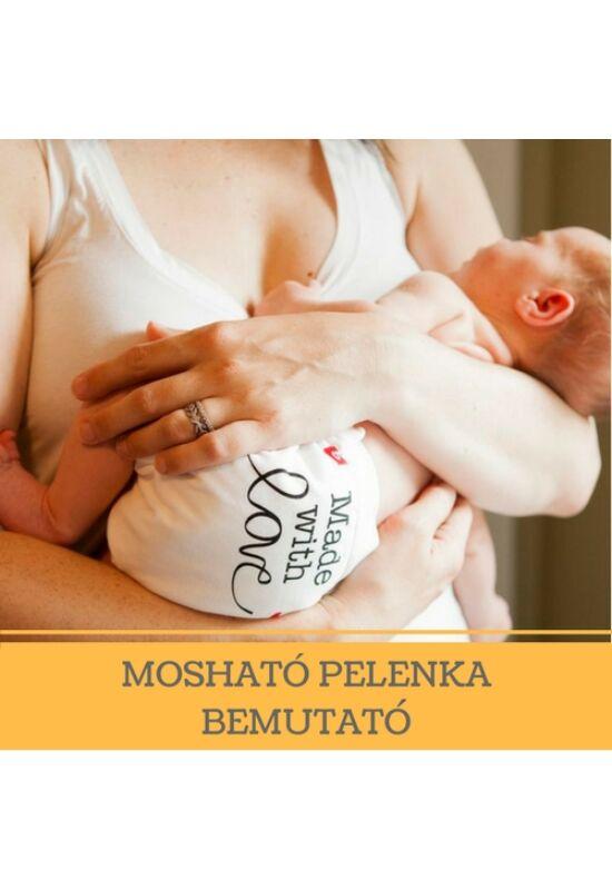 Mosható pelenka tanfolyam Győrben - augusztus 28.