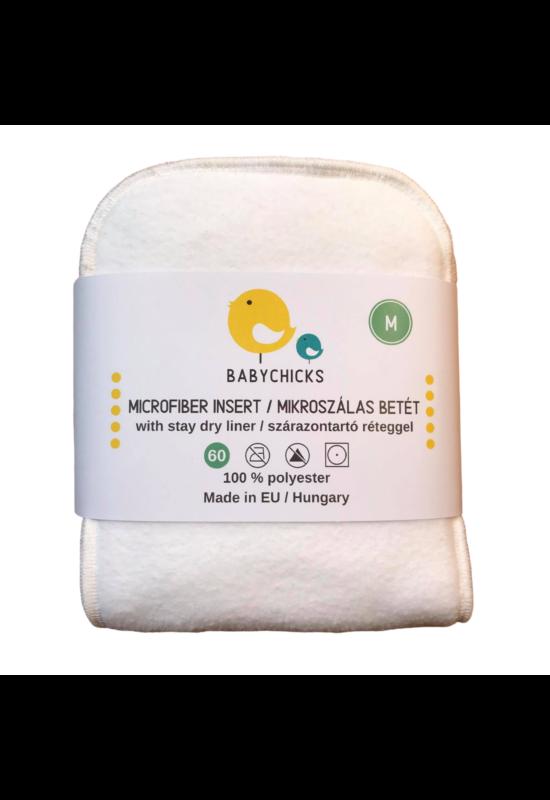 BabyChicks mikroszálas pelenka betét - 2 db-os csomag - M