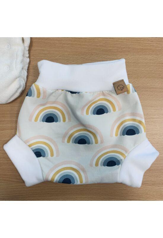 Babychicks bebújós mosható pelenkakülső - szivárvány
