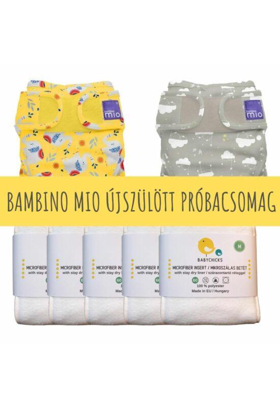 Újszülött mosható pelenka próbacsomag - BambinoMio