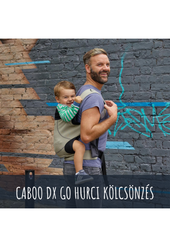 Close Caboo DX go babahordozó kölcsönzés