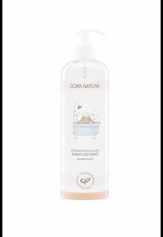Dora Natura körömvirágolajos babafürdető és sampon - 1000 ml