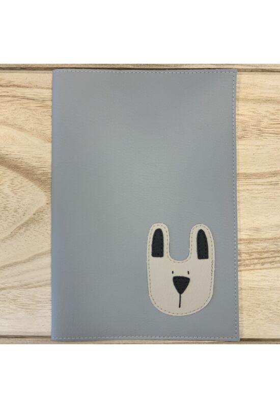ESKA Terhesgondozási kiskönyv borító - Szürke nyuszi (14.7 x 21 cm)