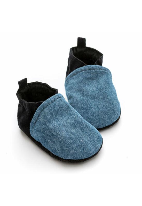 Liliputi® Hordozós Cipő - Denim - XS