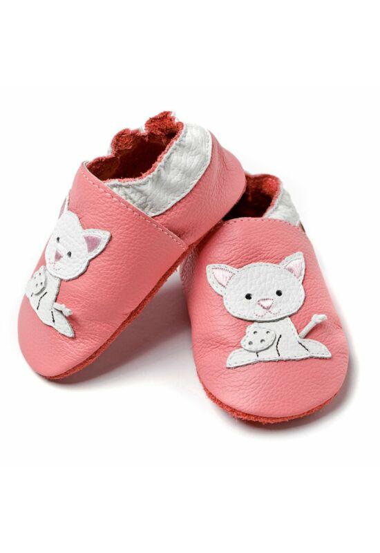 Liliputi® Tappancsos Cipő - Rózsaszín cicás