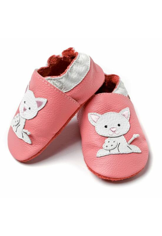 Liliputi® Puhatalpú Cipő - Rózsaszín cicás