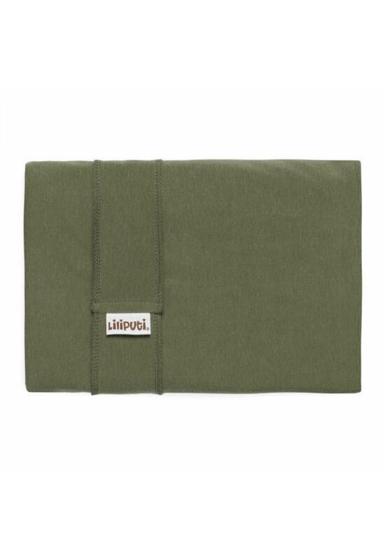 Liliputi rugalmas hordozókendő - Olive