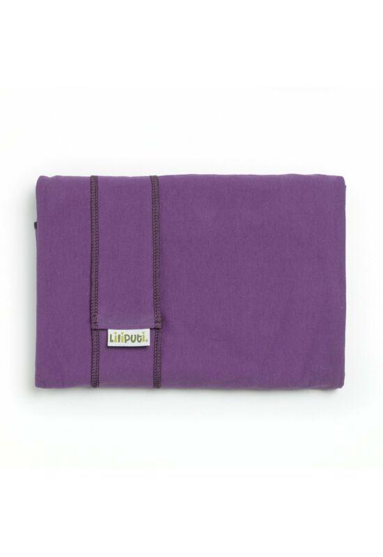 Liliputi rugalmas hordozókendő - Purple Lotus