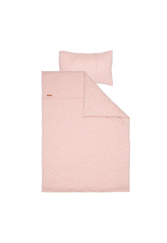Little Dutch babaágynemű szett - vadvirágok, pink