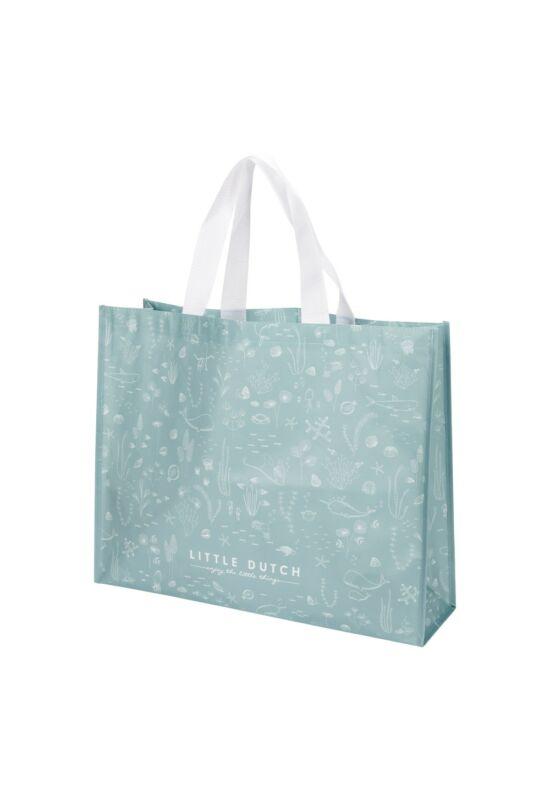 Little Dutch bevásárló táska - kék óceán