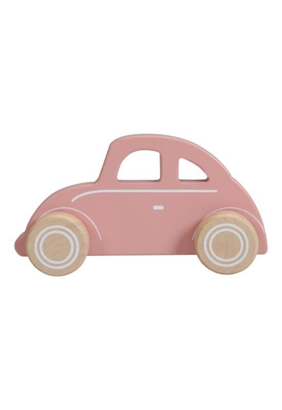 Little Dutch fa jármű - pink Beetle