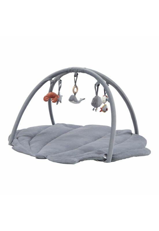 Little Dutch baba játszószőnyeg, játékhíddal - kék