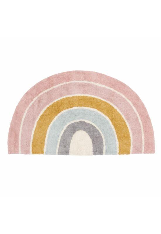 Little Dutch szőnyeg, szivárvány - pink