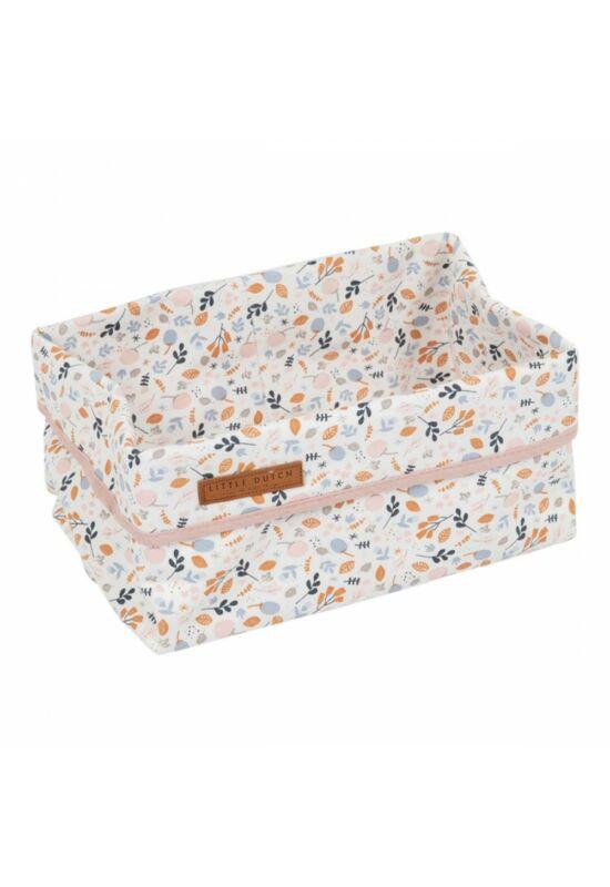 Little Dutch tároló doboz (25x15cm) - tavaszi virágok