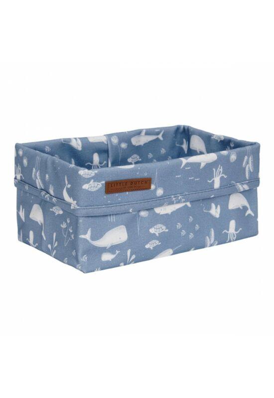 Little Dutch tároló doboz (25x15cm) - óceán, kék
