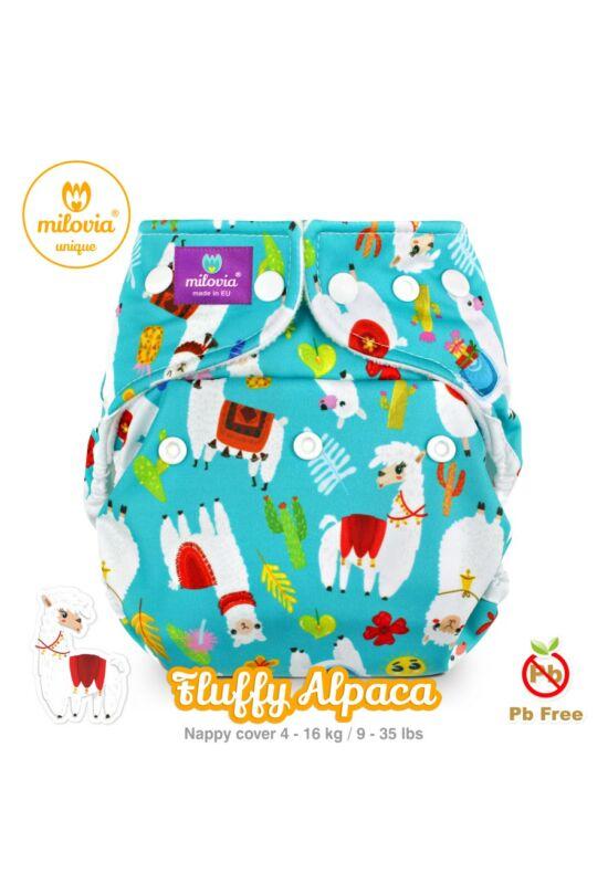 Fluffy alpaca