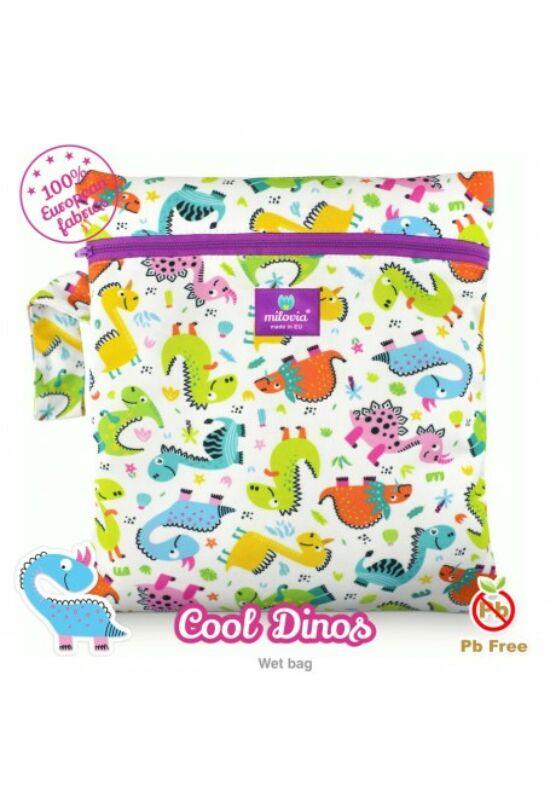 Milovia mosható pelenkazsák - Cool dinos