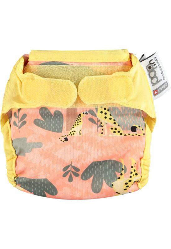 Pop-in újszülött mosható pelenka külső - Gepárd (2.5-5kg)
