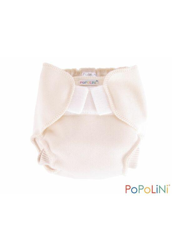 Popolini szűz gyapjú mosható pelenka külső (L)