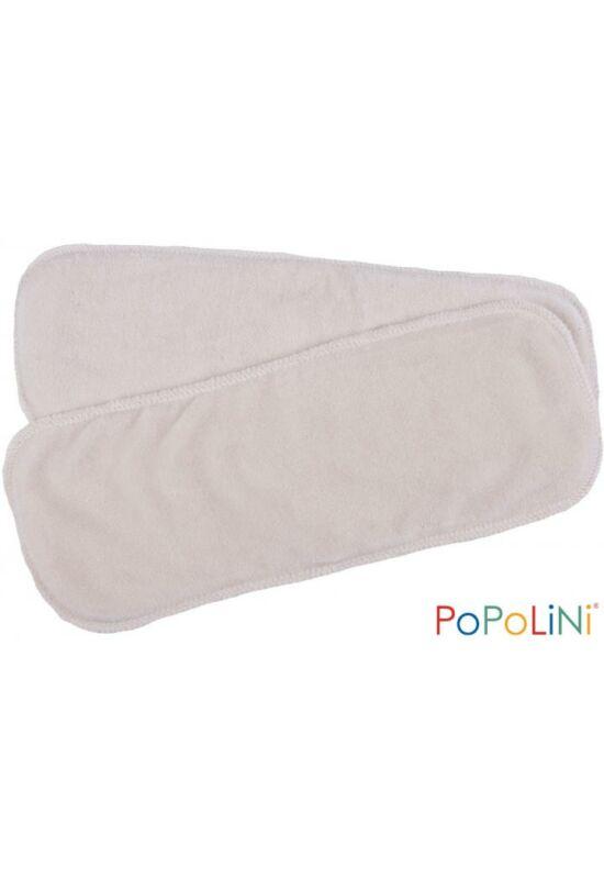 Popolini biopamut mosható pelenka betét - 2db