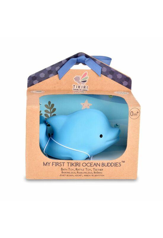 Tikiri Ocean Buddies kaucsuk fürdős játék - Delfin