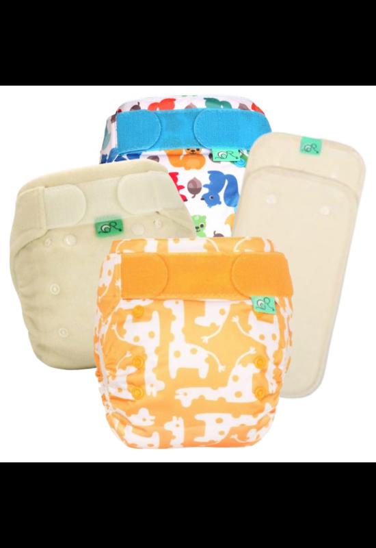 TotsBots mosható pelenka próbacsomag - újszülött