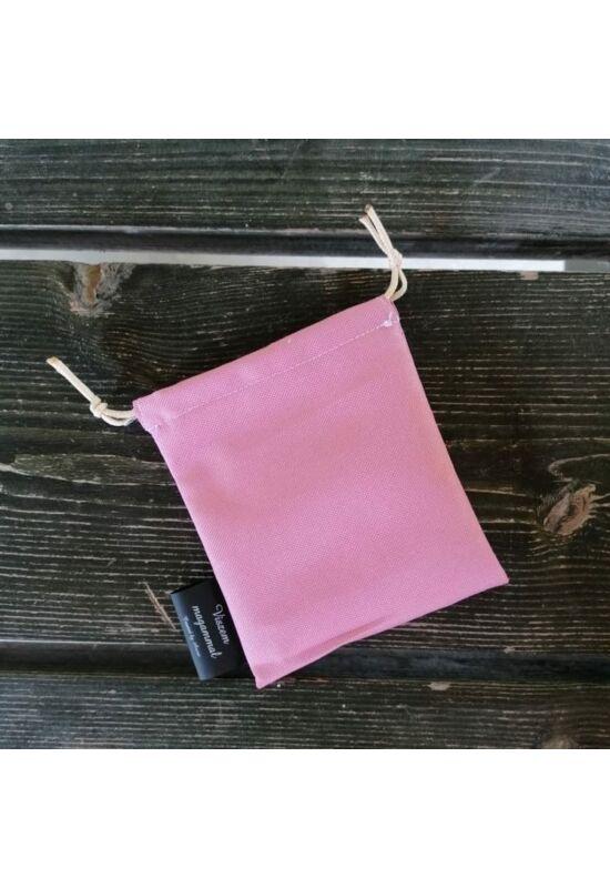 Viszem magammal vízálló miniszütyő (cumitartó) - Pink