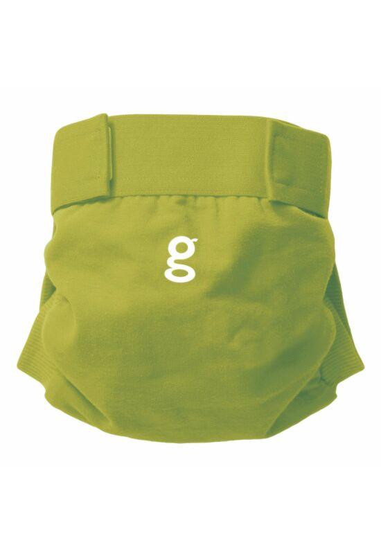 gDiapers mosható pelenka külső 1 db csónakkal - Guppy Green (L)